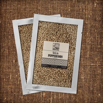 White Pepper Corn Packet