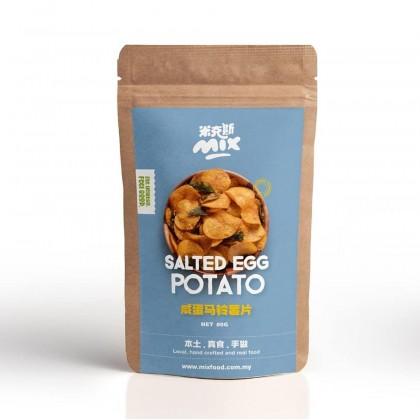 Salted Egg Potato Chips 80g