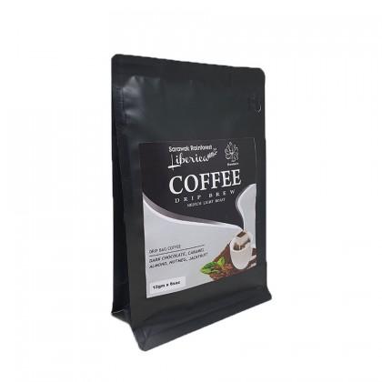 Sarawak Rainforest Liberica Premium Coffee Drip Bag (12gm x 8 sac)